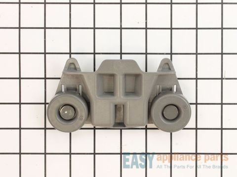 Dishwasher Lower Dishrack Wheel Assembly - Gray – Part Number: W10195416V