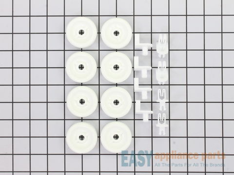 Lower Rack Wheel Kit - 8 Pack – Part Number: WD35X21038