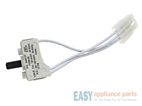 Door Switch - 3 Wire – Part Number: WP3406107