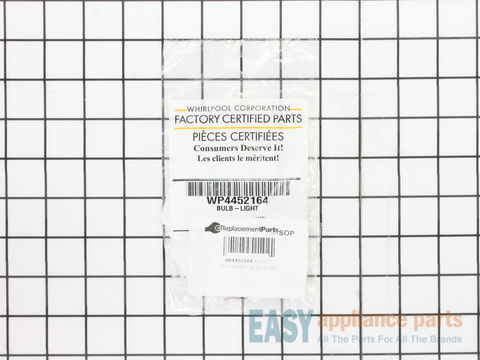 Oven Halogen Bulb – Part Number: WP4452164