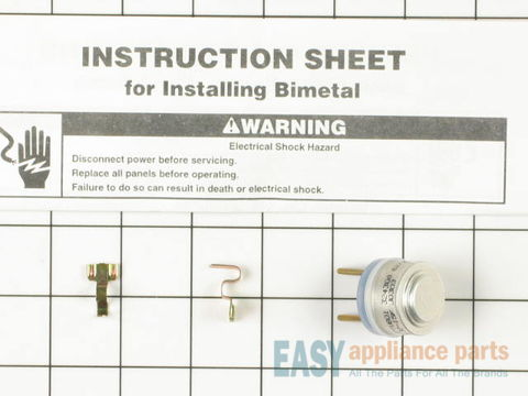 Cycling thermostat – Part Number: WP627985