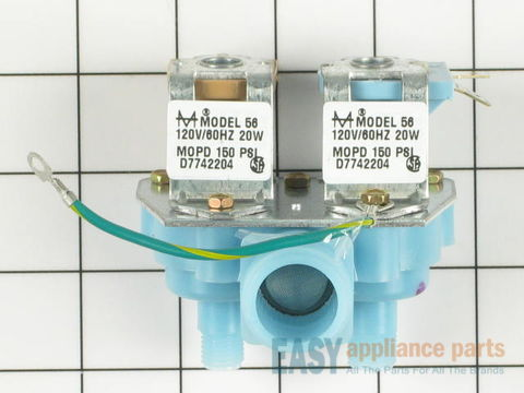 Water Inlet Valve - 120V 60Hz – Part Number: WPW10245167