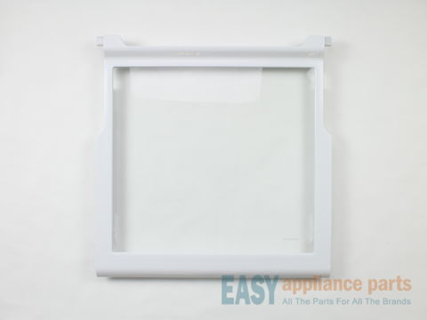Refrigerator Shelf Frame with Glass – Part Number: WPW10276341