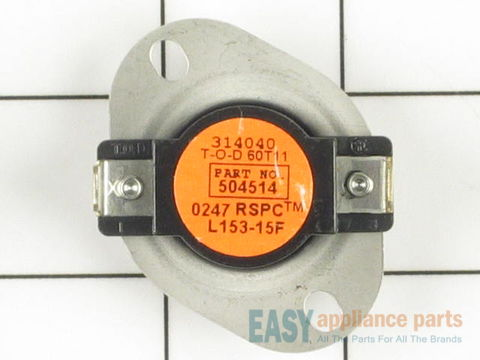 11757551-1-S-Whirlpool-WPY504514-Cycling Thermostat (Limit: 153-15)
