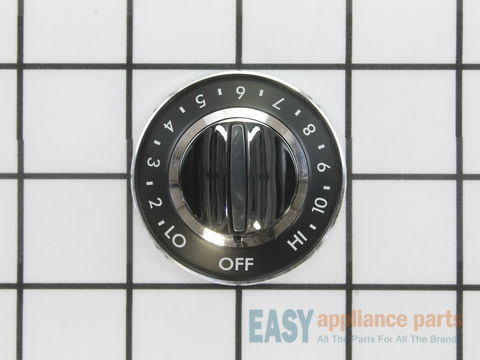 Surface Burner Knob – Part Number: WPY700854