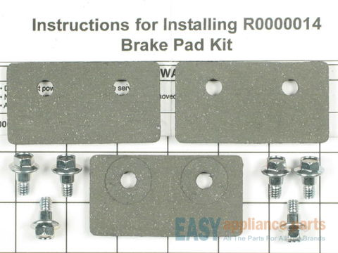 2165432-1-S-Whirlpool-R0000014-Brake Pad Kit