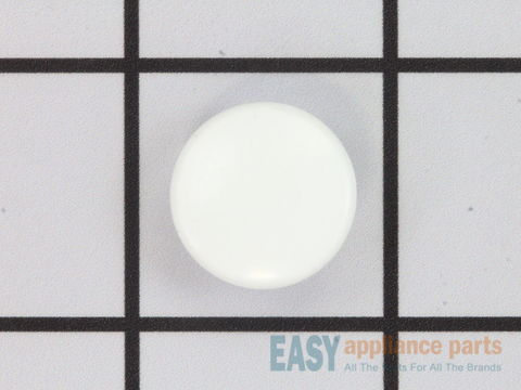 Upper Hinge Button Plug - White – Part Number: 215774901